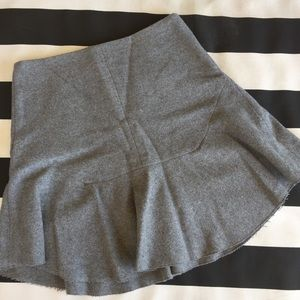 Madewell Wool Skirt